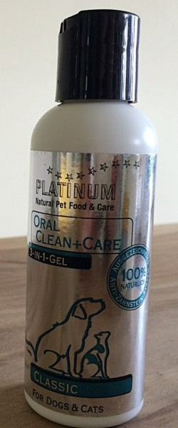Bild D: OralClean+Care 3-in-1 Gel von PLATINUM