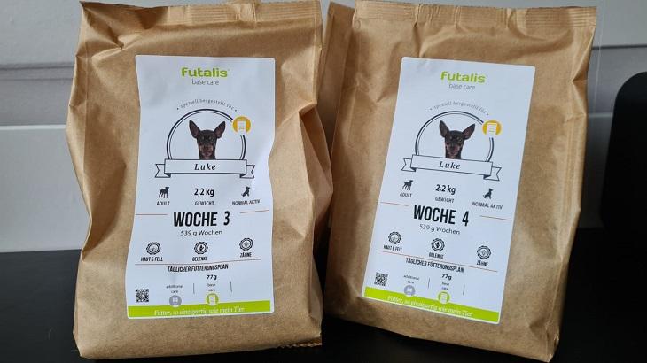 Futalis im Futtertest: Wie gut ist das individualisierte Hundefutter?