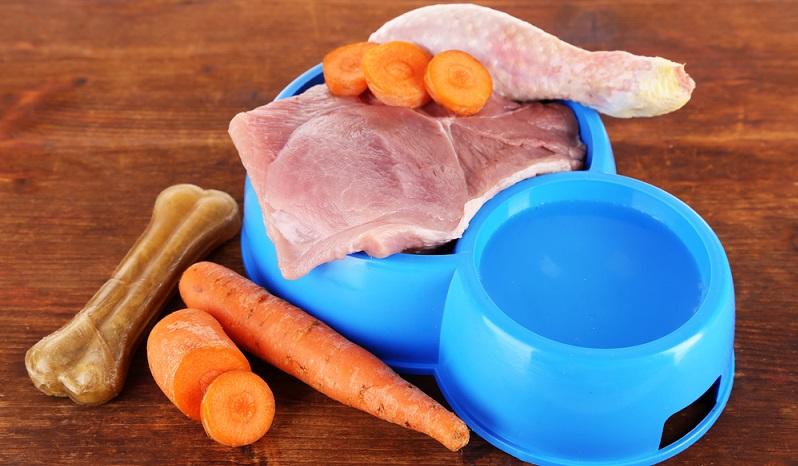 Hunde brauchen viele Nährstoffe, die üblicherweise aus Fleischfutter kommen. Bei Nassfutter kann man anhand der Rezeptur feststellen, wie hoch der Nährwert ist und wie gut die Mengen aufeinander abgestimmt sind.(#02