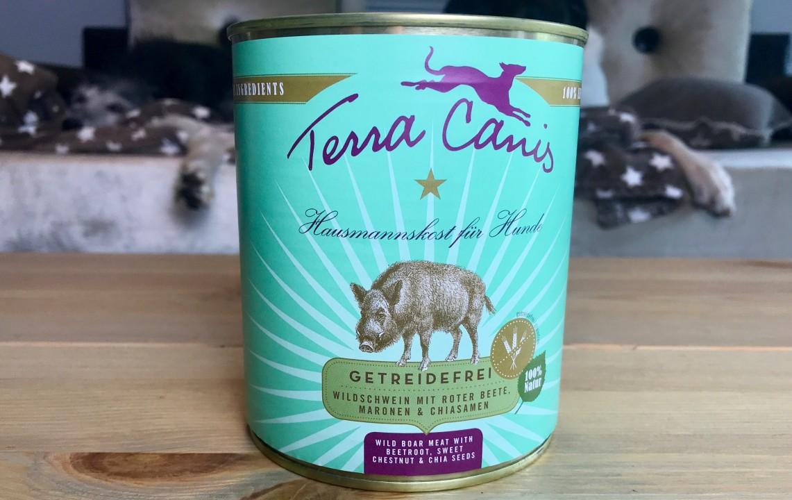 Terra Canis Getreidefreies Wildschwein mit roter Beete, Maronen und Chiasamen