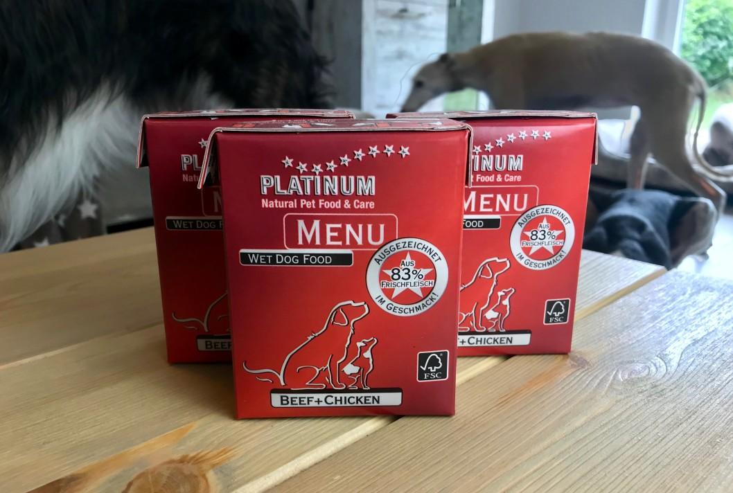 PLATINUM MENU Beef + Chicken in der Tetra Recart® Packung