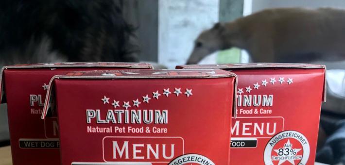 PLATINUM MENU Beef+Chicken im Nassfutter-Test