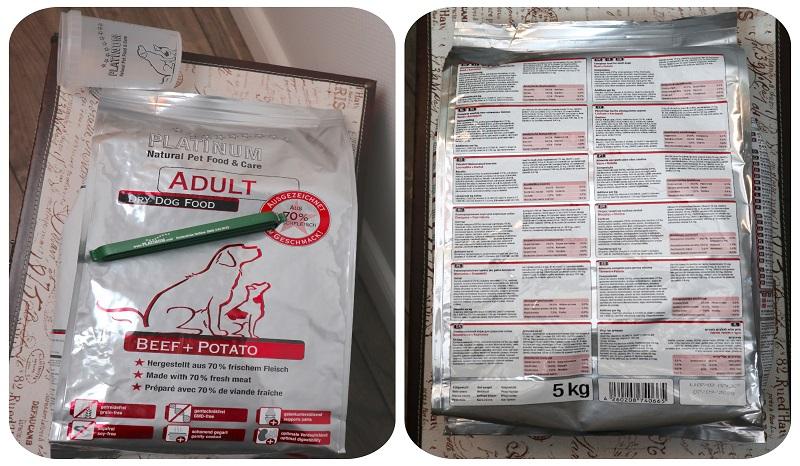Wir testen das neue PLATINUM getreidefrei Adult Beef + Potato.