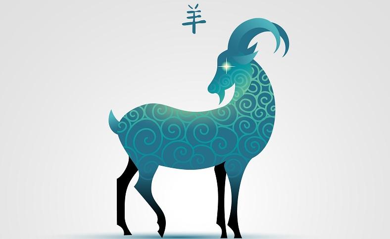 Die Ziege ist voller Sanftheit und Freundlichkeit. Mit ihrer adeligen Erscheinung steht sie für eine gute Ernte und ein Leben voller Reichtümer.  ( Foto: Shutterstock-Anita Ponne  )